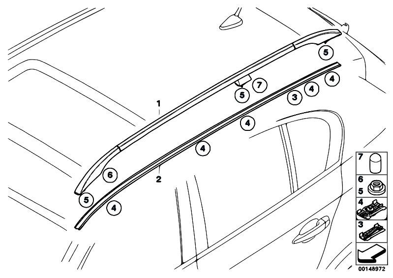 Original Parts For E61 520d M47n2 Touring    Vehicle Trim