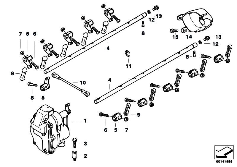 original parts for e63 m6 s85 coupe    fuel preparation system   throttle body acceleration