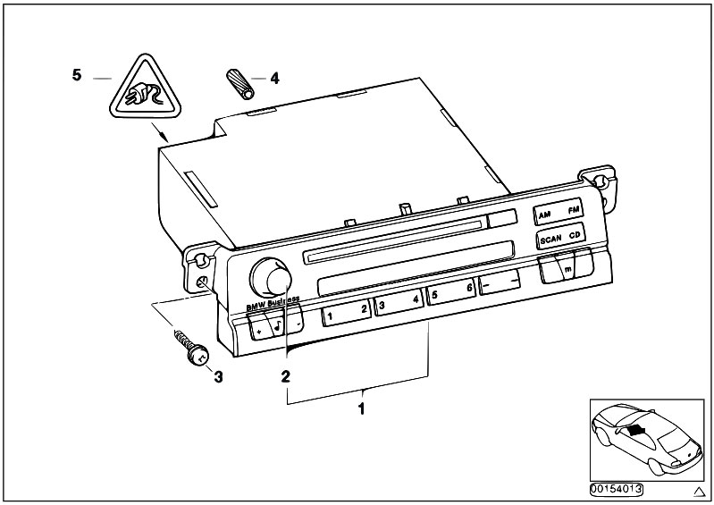 Original Parts For E46 330xd M57 Touring    Audio Navigation Electronic Systems   Radio Bmw