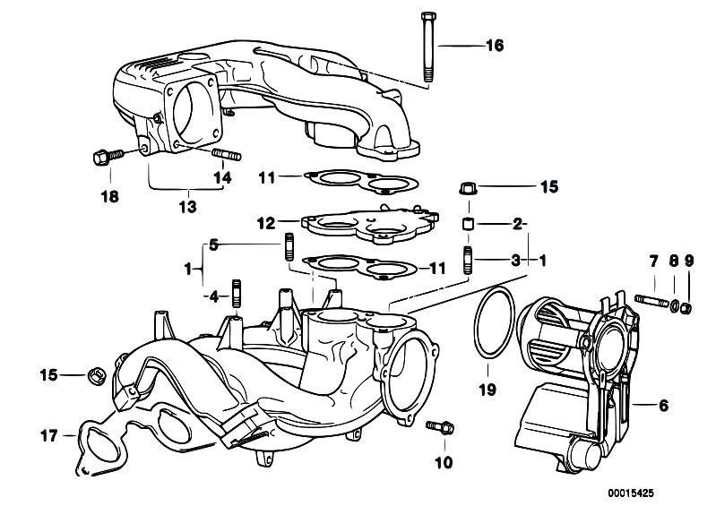 Original Parts For E36 318ti M44 Compact    Engine   Intake