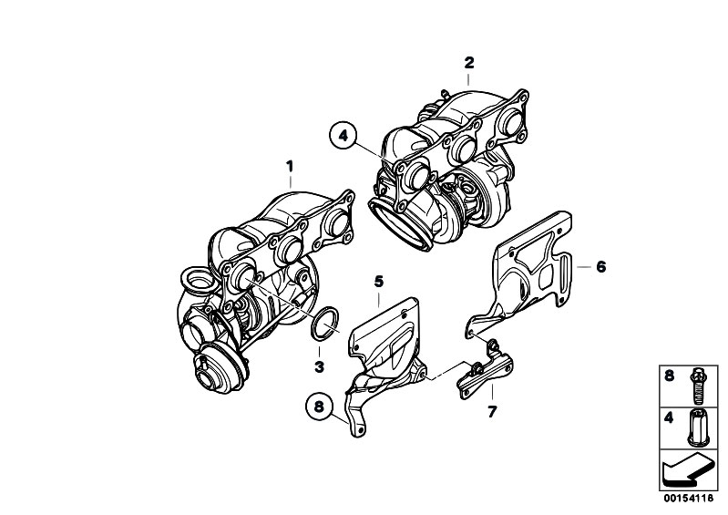 original parts for f01 740i n54 sedan    engine   turbo