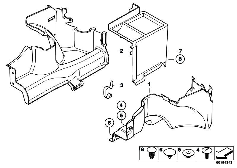 Original Parts For E85 Z4 M3 2 S54 Roadster    Vehicle Trim