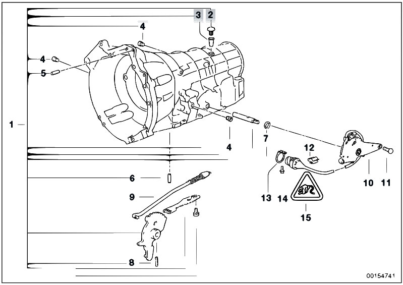 Original Parts For E38 728i M52 Sedan    Automatic