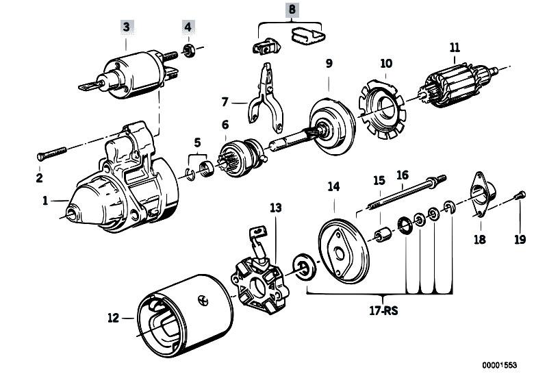 original parts for e36 318ti m42 compact    engine