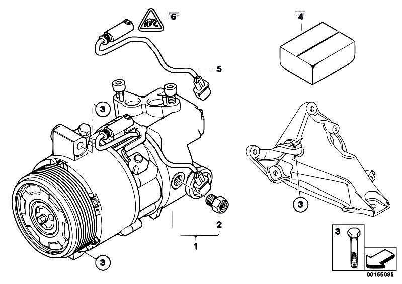 Original Parts For E90 320d M47n2 Sedan    Heater And Air