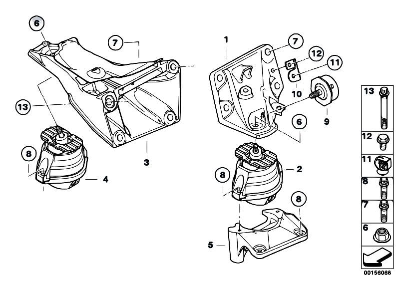 original parts for e90 335i n54 sedan    engine and