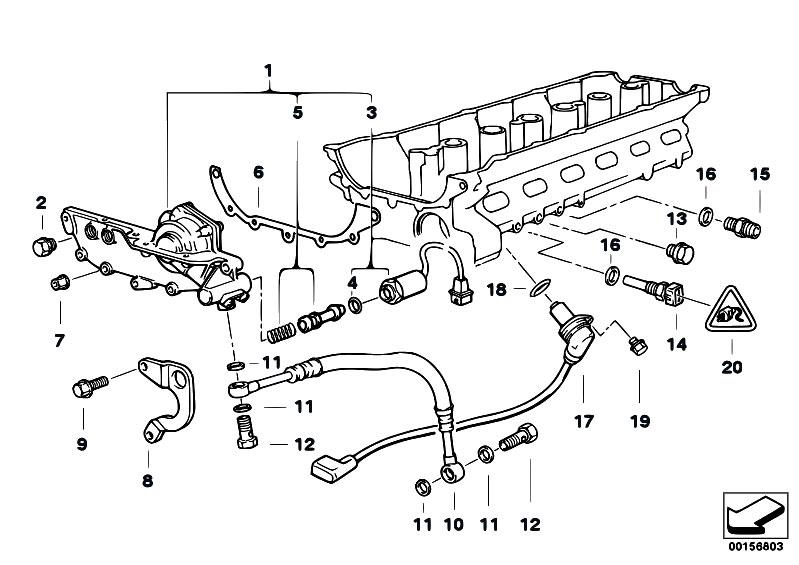 original parts for e36 323ti m52 compact    engine