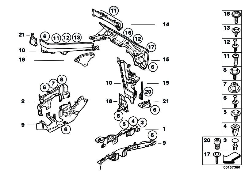 Original Parts For E71 X6 30dx M57n2 Sac    Vehicle Trim