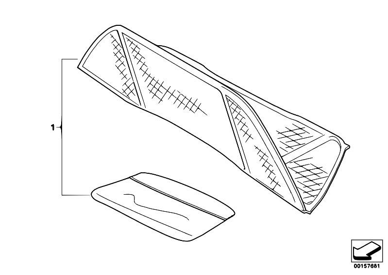 original parts for e46 318ci n46 cabrio    sliding roof