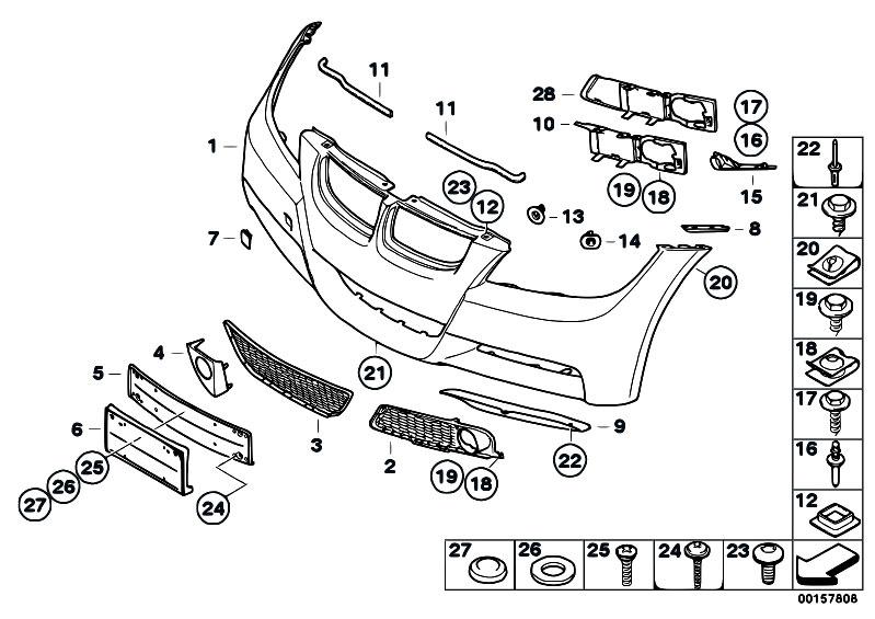 bmw parts diagram e90