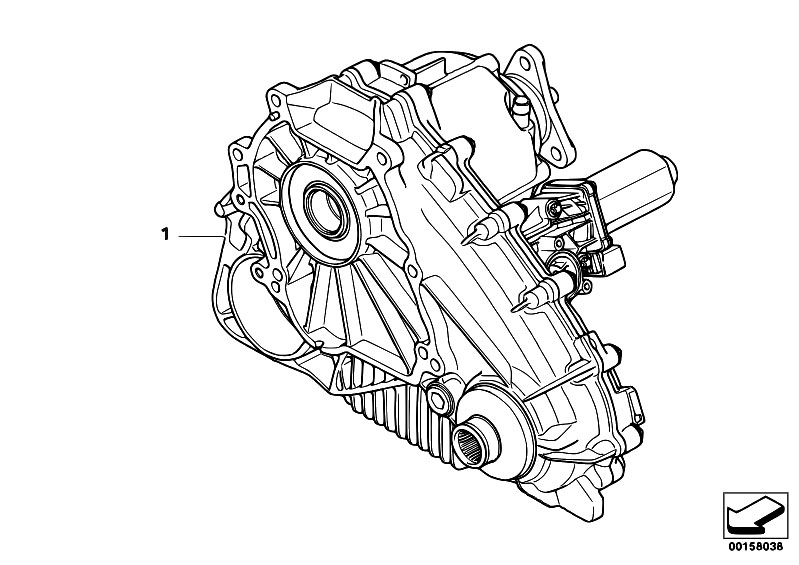 bmw x5 transfer case diagram