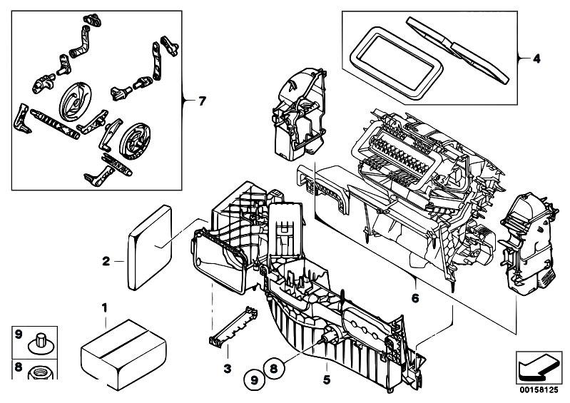 Original Parts For E70 X5 4 8i N62n Sav Heater And Air