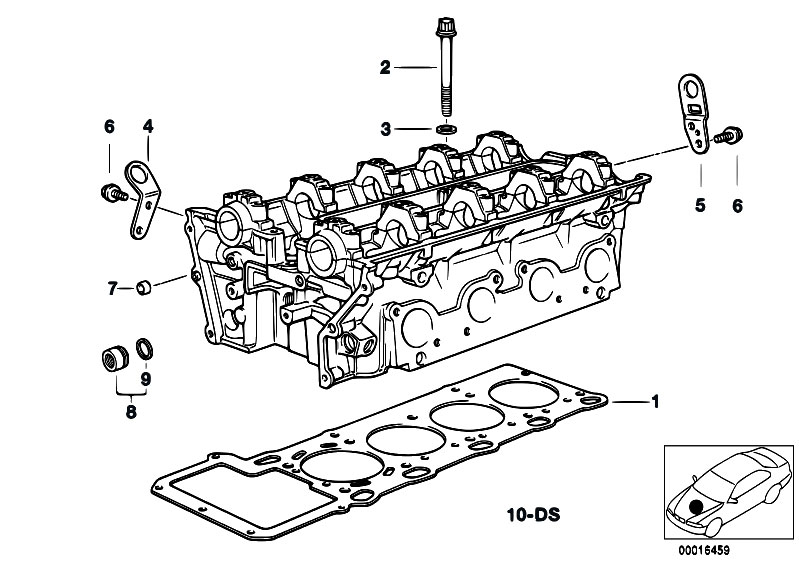 Original Parts For E39 540i M62 Touring    Engine   Cylinder