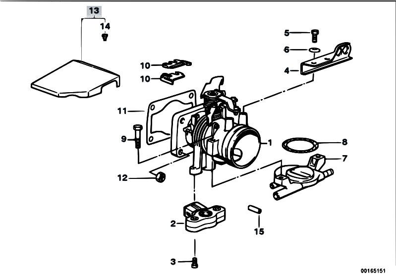 Bmw M40 Throttle Body