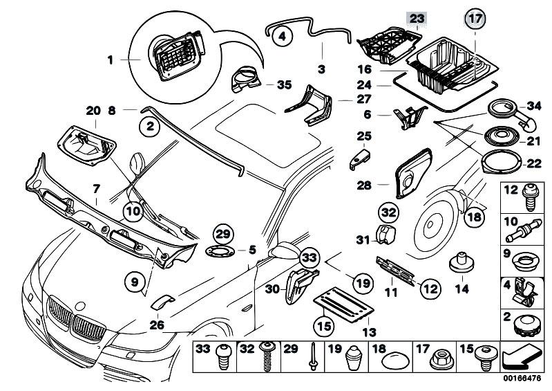 34 Bmw 325i Parts Diagram