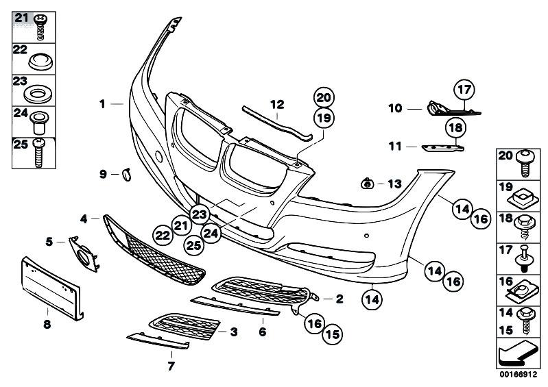Original Parts For E90n 335xi N54 Sedan Vehicle Trim Trim Panel