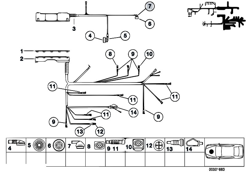 mty4m19w e46 wiring harness diagram wiring diagrams for diy car repairs engine wiring harness diagram at reclaimingppi.co