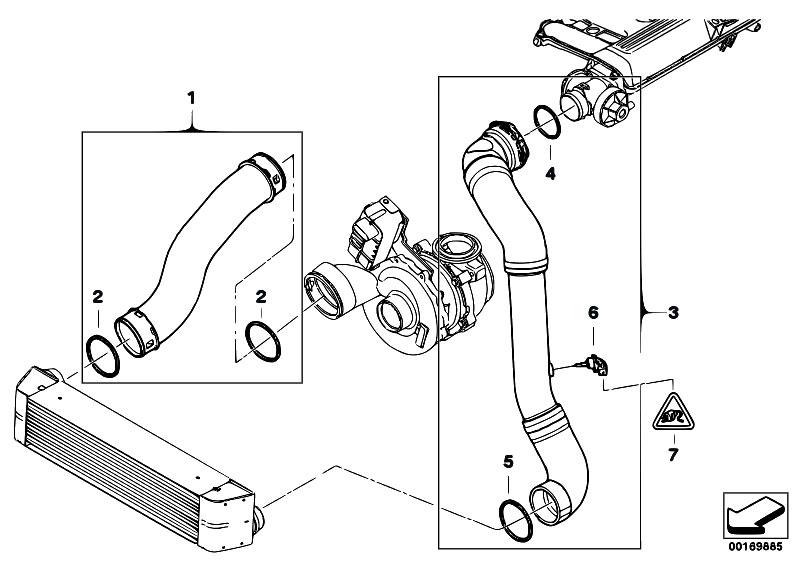 Original Parts For E83 X3 3 0d M57n2 Sav    Engine   Intake