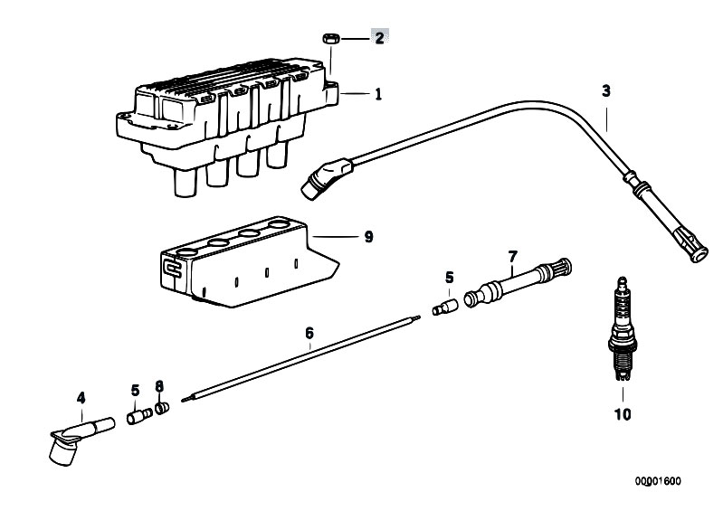 electric bmw 325i ignition coil diagram  bmw  wiring