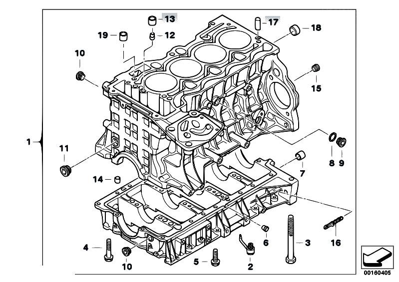 Original Parts For E81 116i 2 0 N43 3 Doors    Engine