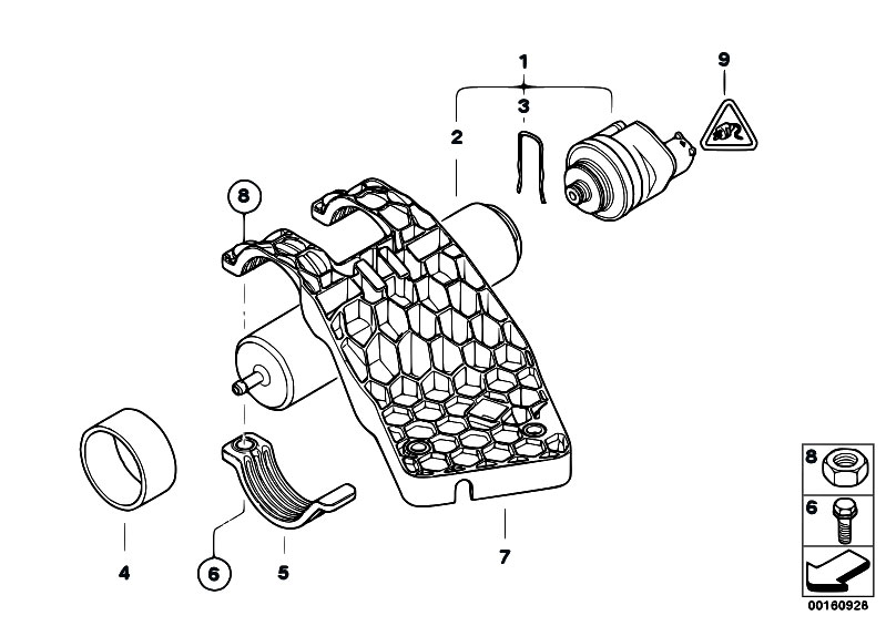 original parts for e70 x5 3 0sd m57n2 sav    fuel