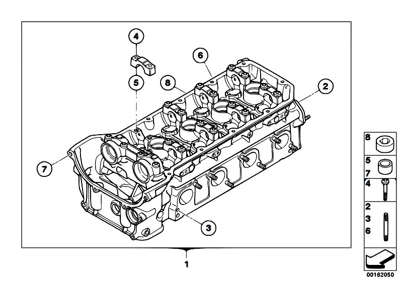 Original Parts For E92 M3 S65 Coupe    Engine   Cylinder Head