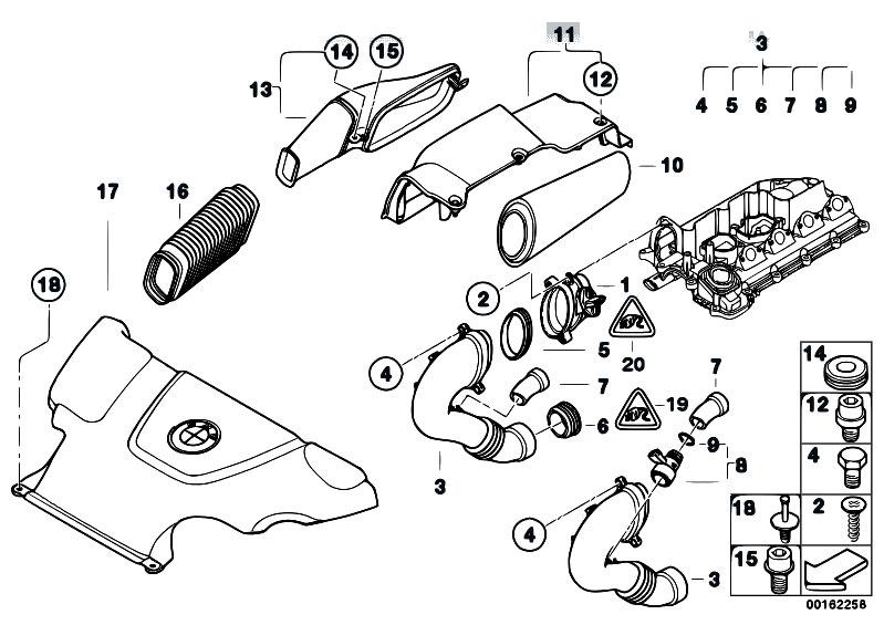 Original Parts For E46 320d M47n Touring    Fuel