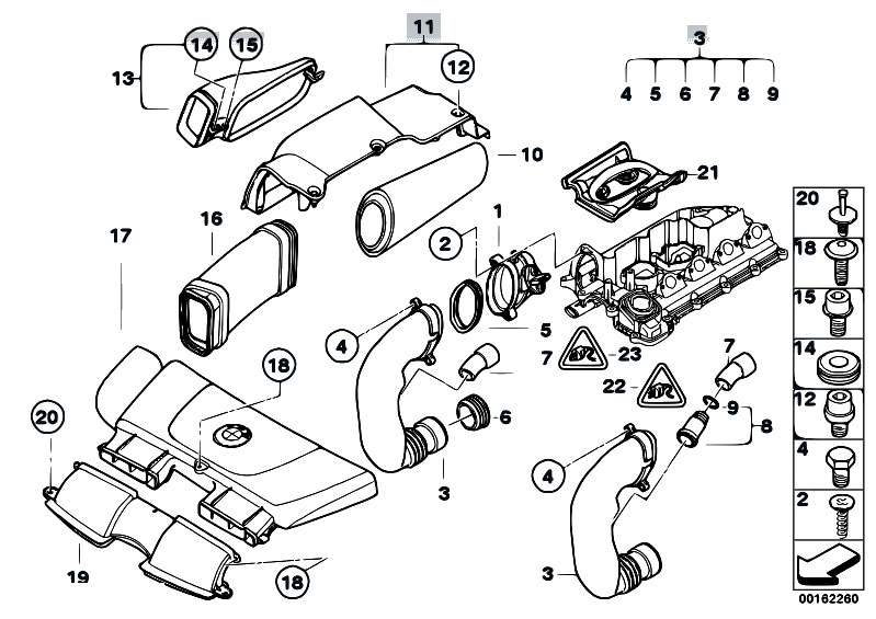 Original Parts For E90 320d M47n2 Sedan Fuel Preparation System Rhestorecentral: Maf N52 Wiring Diagram At Gmaili.net