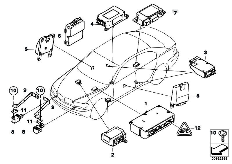 Original Parts For E67 760lis N73 Sedan    Audio Navigation