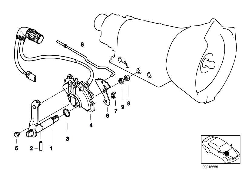 Original Parts For E39 528i M52 Touring Automatic Transmission