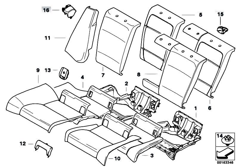 E92 M3 Seat