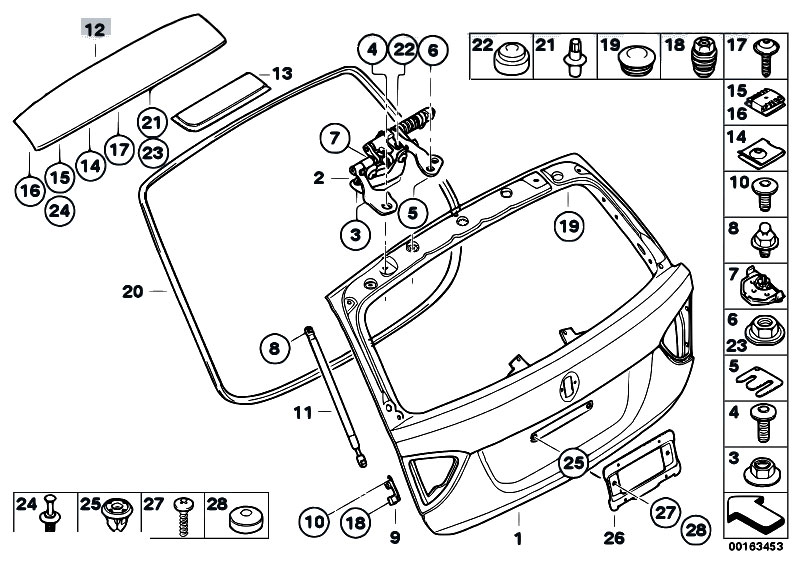 original parts for e91 318i n43 touring    bodywork   single