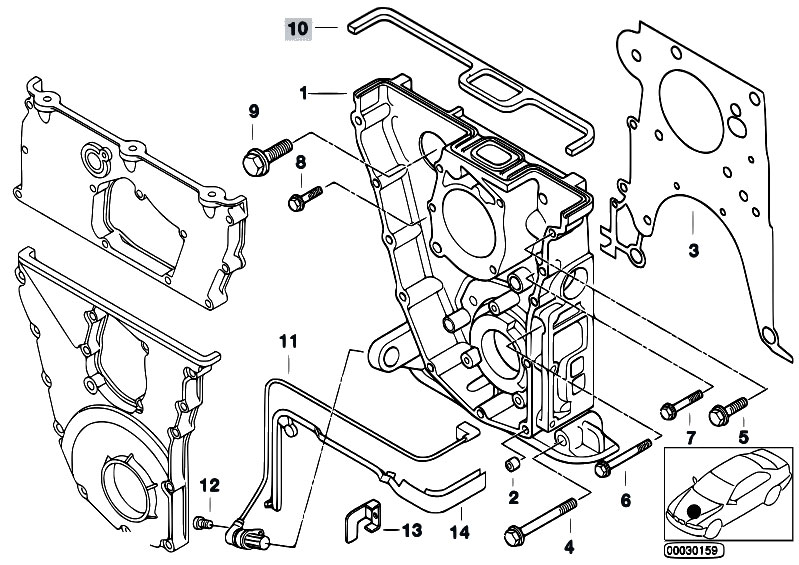 Original Parts For E36 318is M42 Sedan Engine Timing Case
