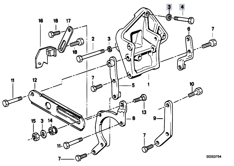 Original Parts For E30 325e M20 4 Doors Steering Hydro Steering