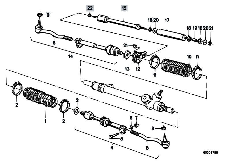 E30 Tie Rod