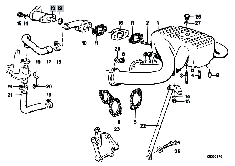 bmw 318ti engine diagram intake original parts for e30 318i m10 4 doors / engine/ intake ... #7