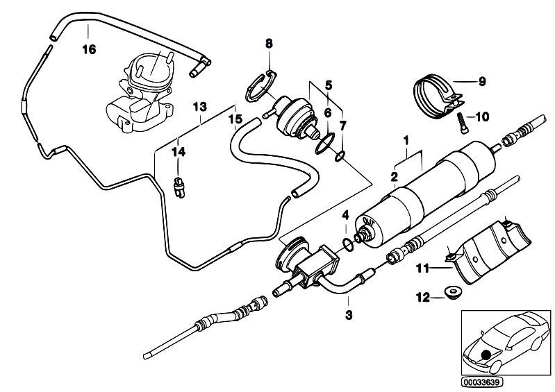 original parts for e39 m5 s62 sedan    fuel preparation
