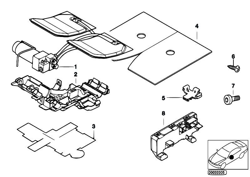 Original Parts For E38 730il M60 Sedan    Seats   Single