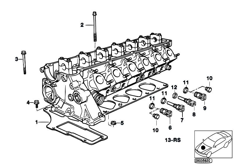 Original Parts For E36 325tds M51 Touring Engine