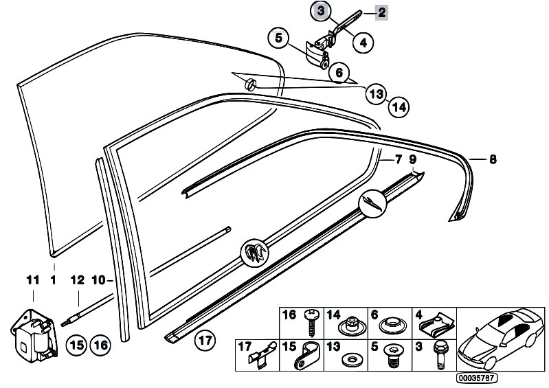 Original Parts For E36 318is M42 Coupe    Vehicle Trim