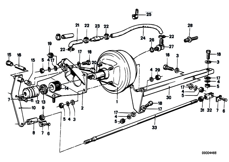 Original Parts For E21 318i M10 Sedan    Brakes   Brake