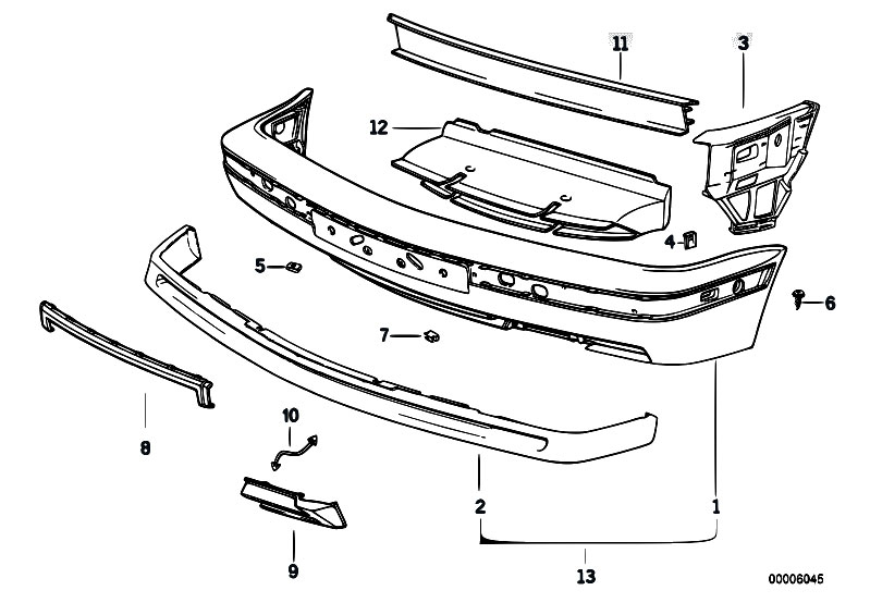 Original Parts For E34 M5 S38 Touring    Vehicle Trim