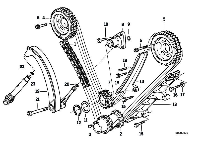 m60 engine timing