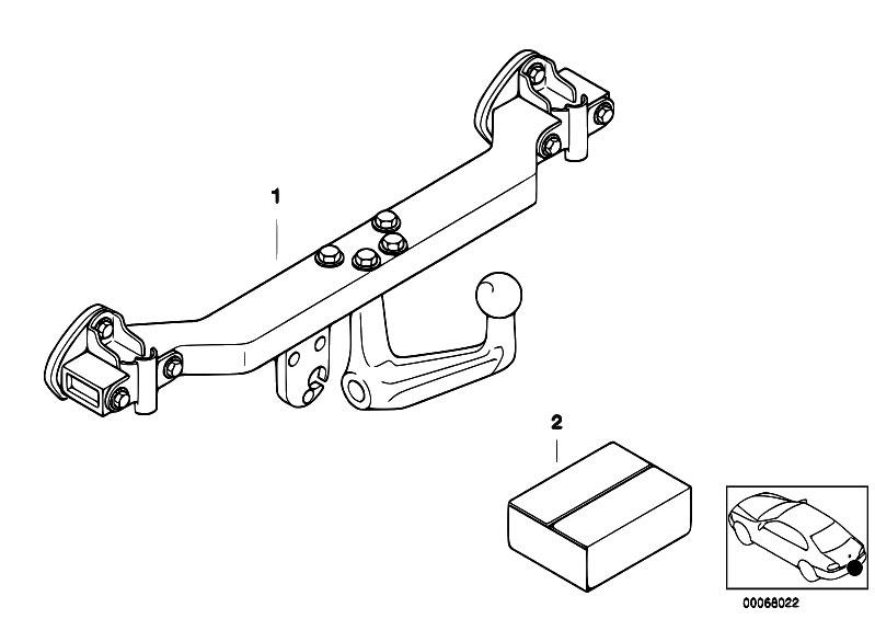 original parts for e46 318d m47 sedan    equipment parts