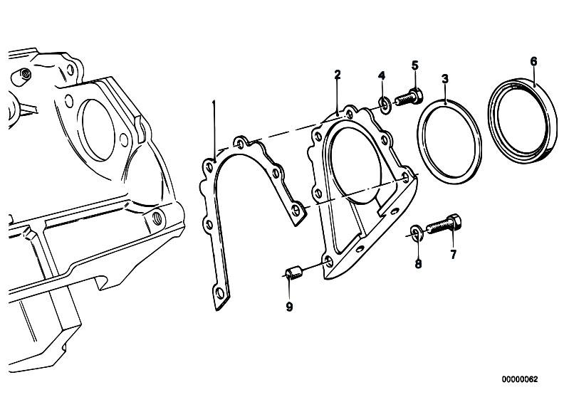 Original Parts For E30 323i M20 4 Doors Engine Engine Block