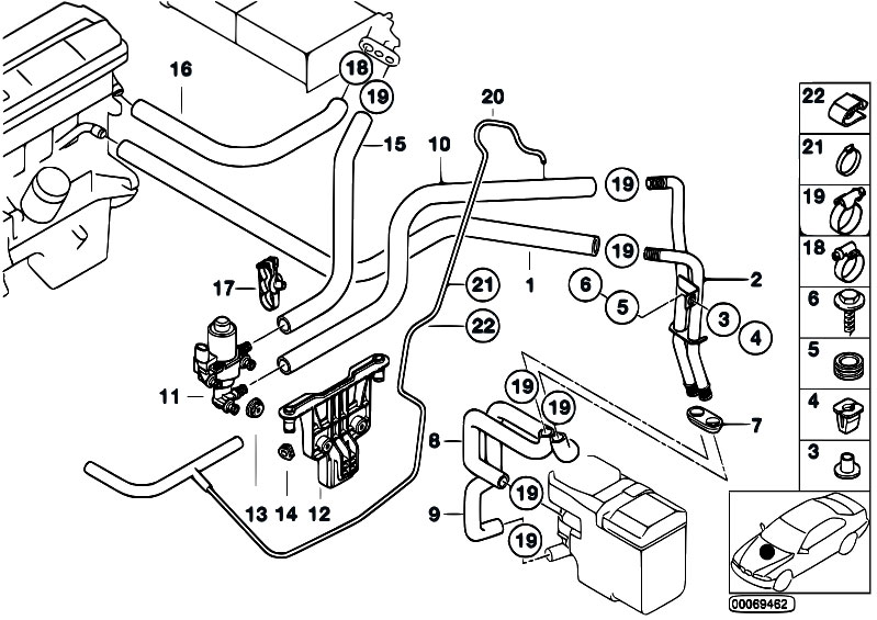 bmw 528i drive belt diagram