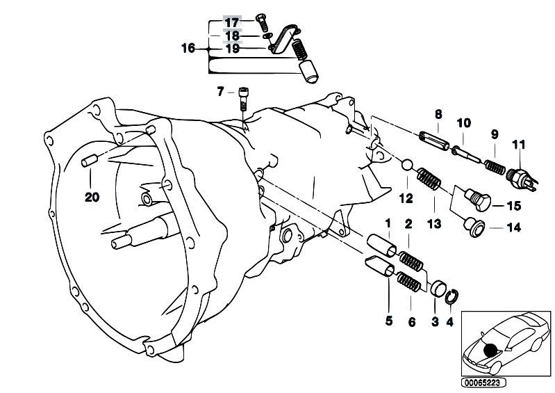 Original Parts For E36 M3 3 2 S50 Sedan Manual Transmission