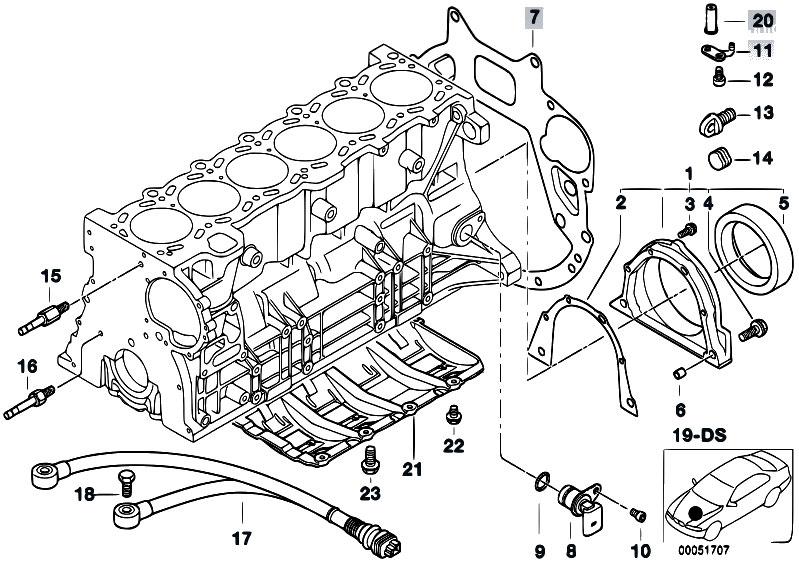 original parts for e39 520i m52 touring    engine   engine