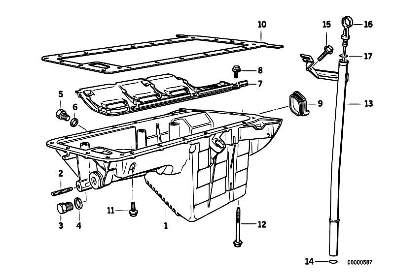 original parts for e36 316i m40 sedan    engine   oil pan