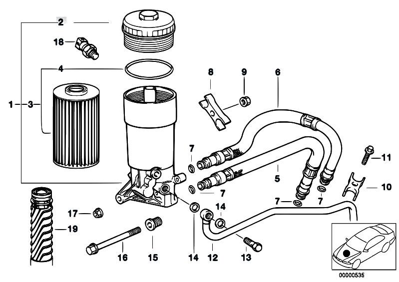 Original Parts For E32 730i M60 Sedan    Engine